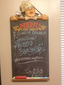 Dessert Menu!
