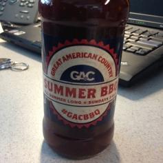 GAC Summer BBQ Sauce