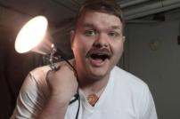 Day 17 - Mustache, Garage