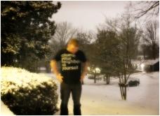 Day 28 - Snow, Sidewalk