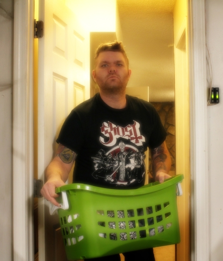 Day 31 - Real Men Do Laundry, Garage