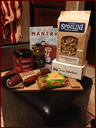Mantry crate contents, September