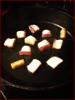 Frying up that pancetta