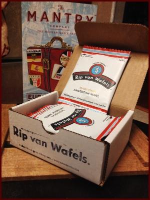 Dutch Stroopwafel from Rip Van Wafels, San Francisco, CA