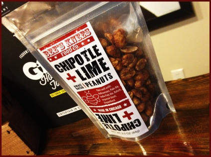 Chipotle Lime Peanuts by Bee's Knees Food Co. in Chicago, IL