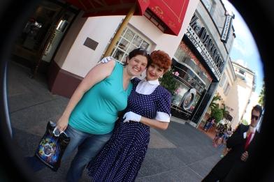 Erin met Lucy, too