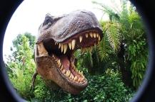 T-Rex attack at Jurassic Park!