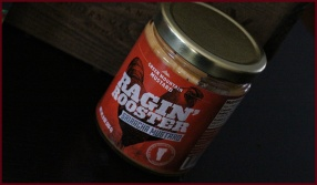 Ragin' Rooster Sriracha Mustard, from Green Mountain Mustard, Richmond, VT