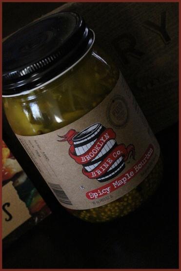 Spicy Maple Bourbon Pickles from Brooklyn Brine, Brooklyn, NY