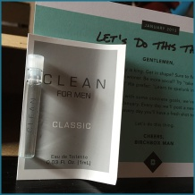 Classic Eau de Toilette for Men by CLEAN