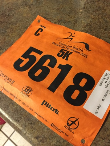 Obligatory bib photo