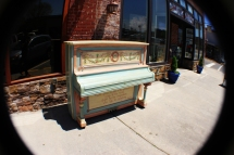 More piano art in downtown Kingsport, Tennessee