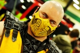 Mortal Kombat's Scorpion cosplay