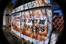 Auto shop signage