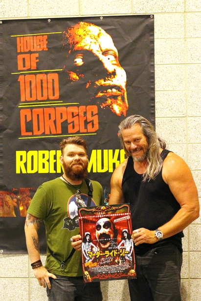 Robert Mukes of House of 1000 Corpses