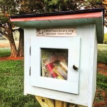 Little Free Library is a cool concept