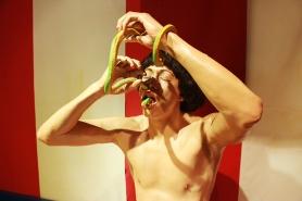 Johnny Tong, the Snake Charmer