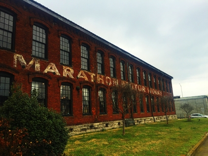 Historic Marathon Motor Works building.
