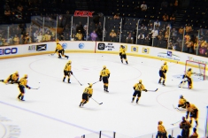 Preds warming up