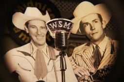 Ernest Tubb & Hank Sr. at the Ernest Tubb record store